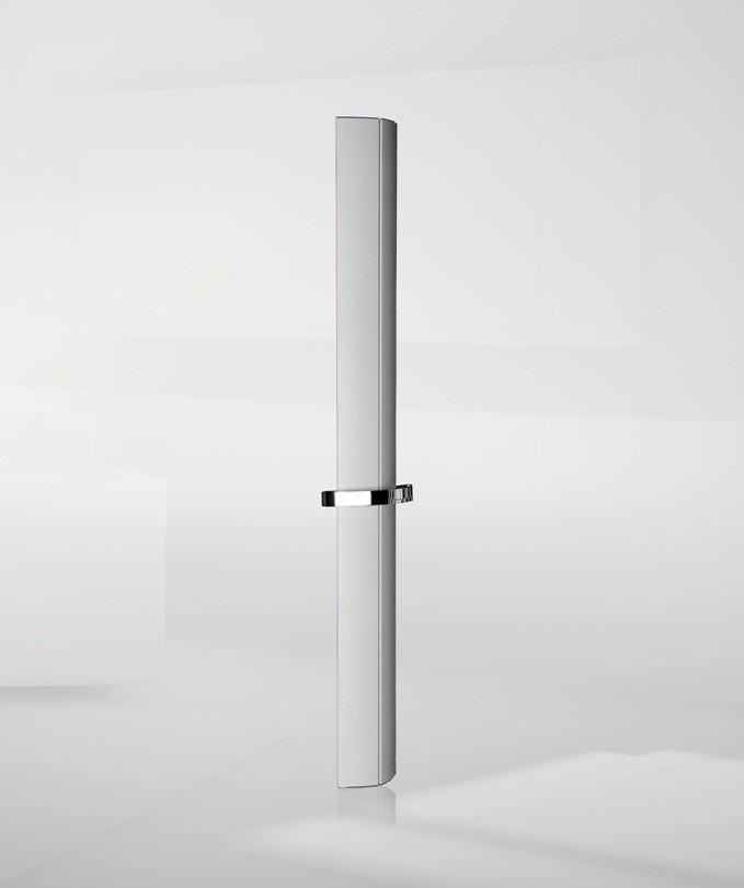Nixie aluminium designradiator voor badkamer en keuken