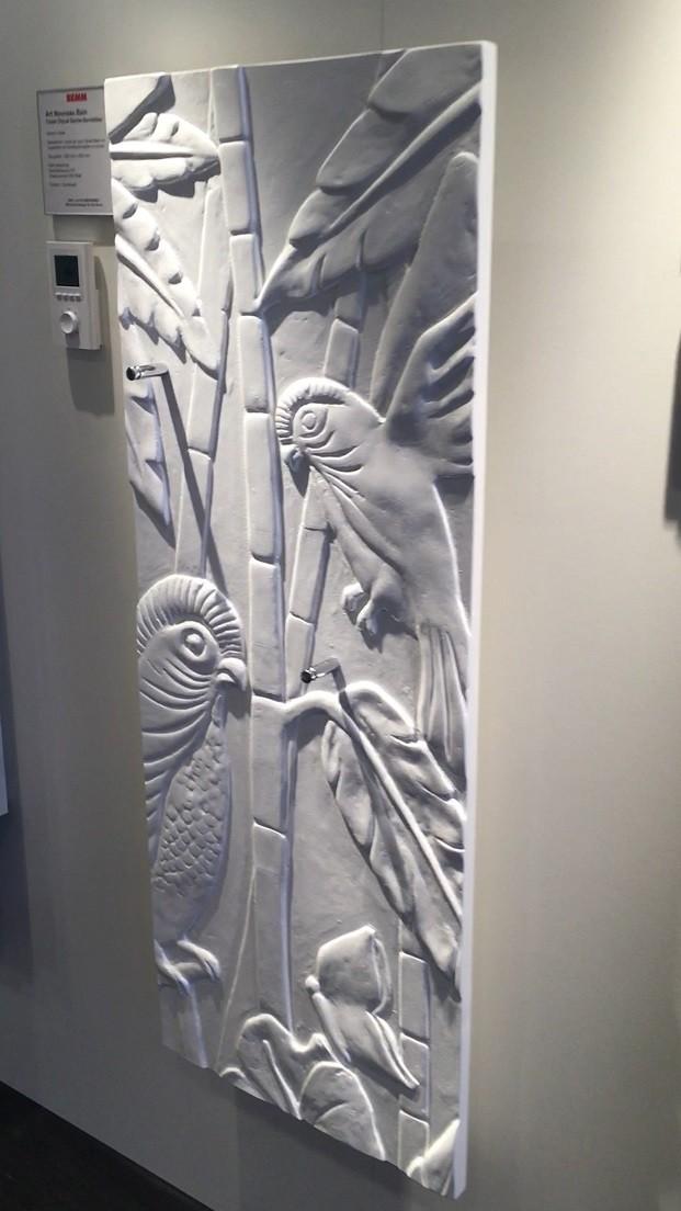 Art Nouveau radiator
