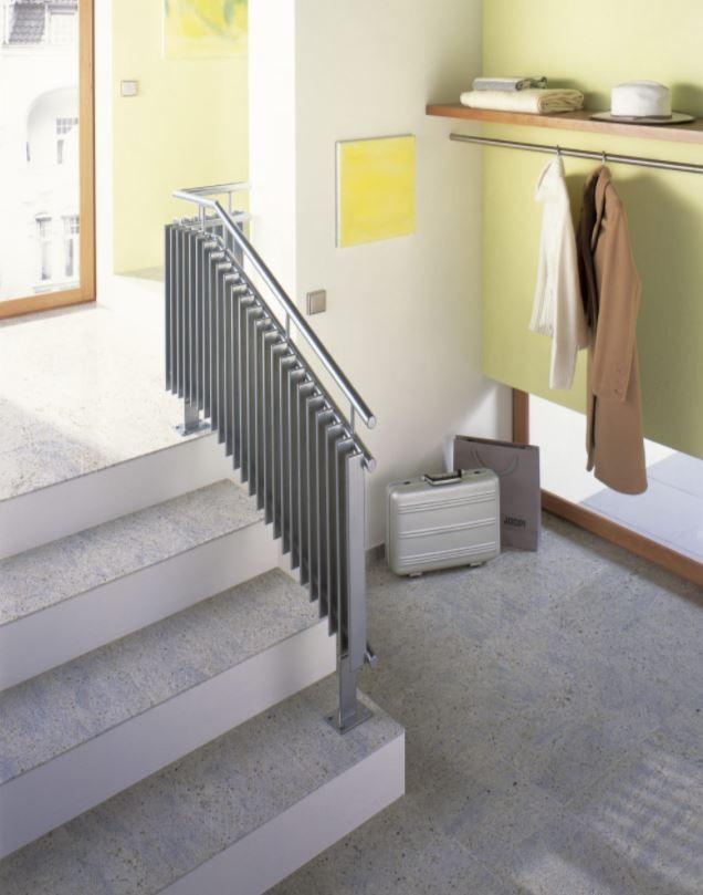 radiator als trapleuning