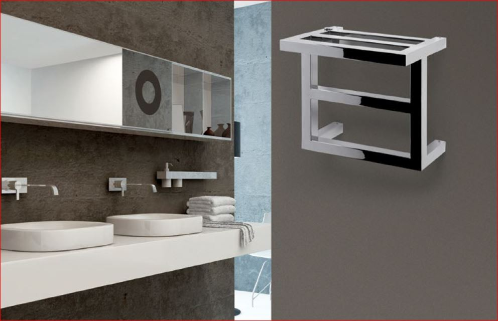 Rvs roestvrij staal design radiatoren voor verwarming van badkamer