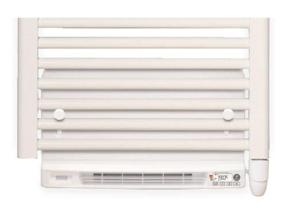 montage elektrische ventilator aan bestaande handdoek radiator.