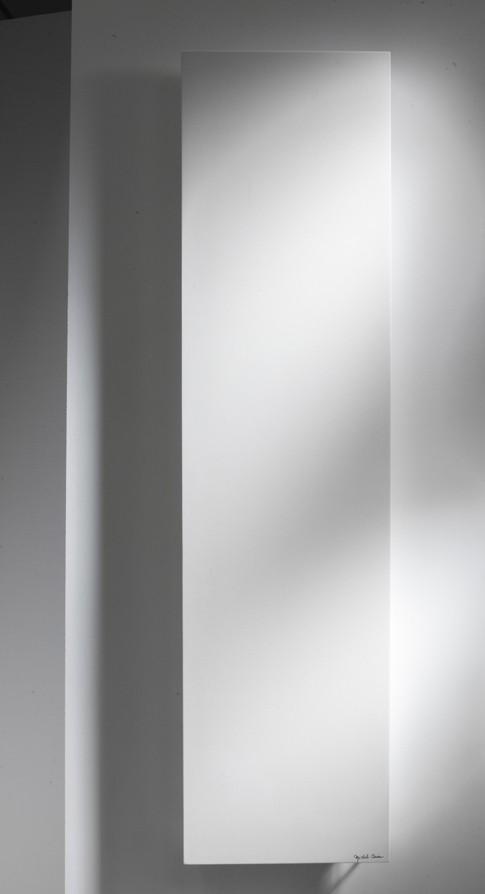 ROC Unis designradiator van Cinier in natuursteen uitgevoerd
