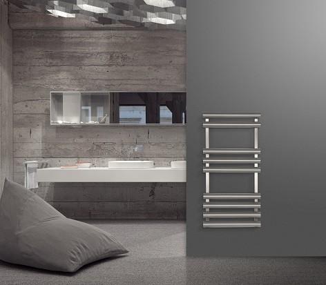 Tron RVS handdoekradiator voor de badkamer en keuken