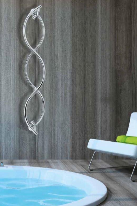 Designradiator vertical twist