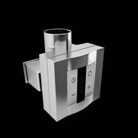 elektrisch verwarmingselement met wandkapje