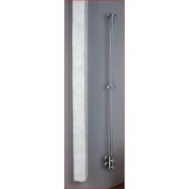 Verticale handdoekradiator voor het drogen van handdoeken