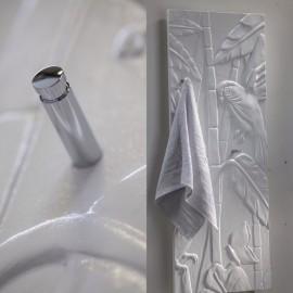 Detail Cinier Art nouveau 130 x 50 handdoekradiator