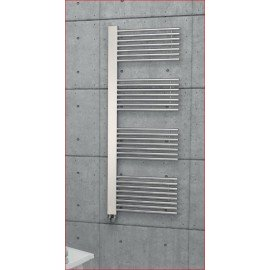 Design handdoek radiator Delta chroom of wit