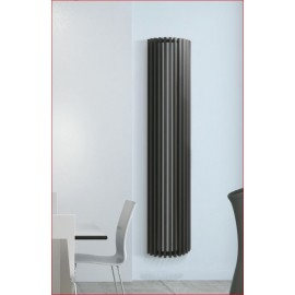 Designradiator van verticale ronde kokerbuis model Diva Deco