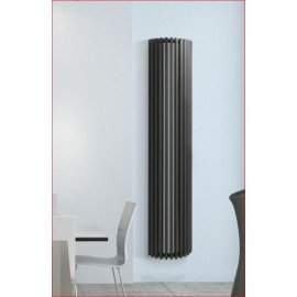 Verticale ronde kokerbuis designradiator Diva Deco