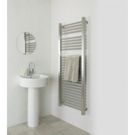 Rushmore RVS designradiator voor de badkamer