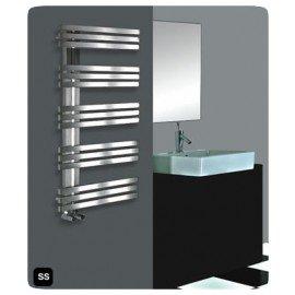 designradiator Alias RVS handdoekradiator