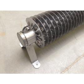 RVS elektrische buisradiator
