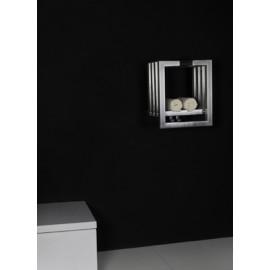 RVS designradiator Kubrik