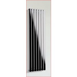 Pro lamellen designradiator in chroom wit of zwart