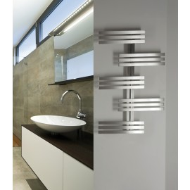 designradiator Magma RVS handdoekdroger