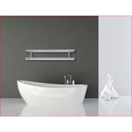 Handdoek designradiator Orrizonti chroom