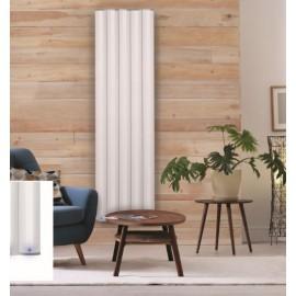 Vanity verticale elektrische wand design radiator in mat wit of mat zwart