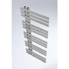 handdoekradiator verona in chroom en wit