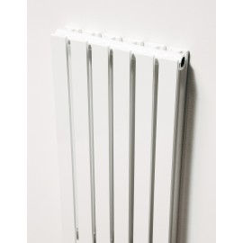 Pr lamellen designradiator in wit of zwart
