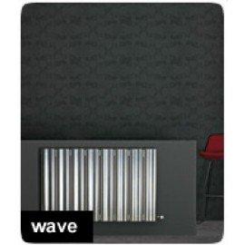 Aluminium designradiator Wave